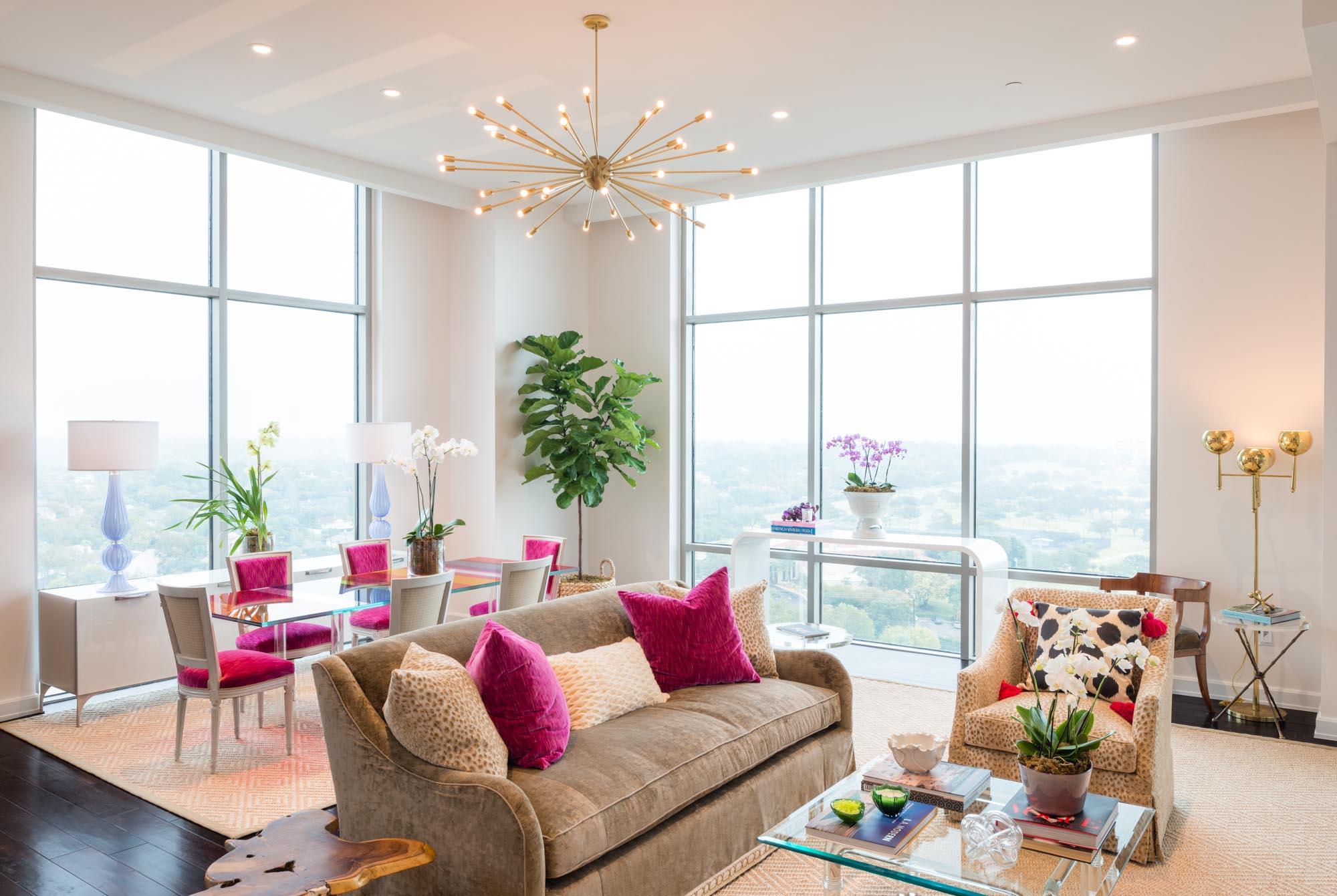 Modern high rise m interiors - Interior designers san antonio tx ...