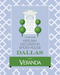 Kips Bay Decorator Show House Dallas with Veranda